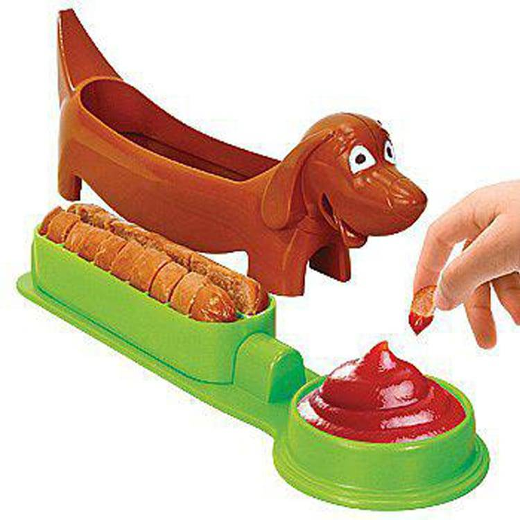 Innovative Plastic Hot Dog Cutter