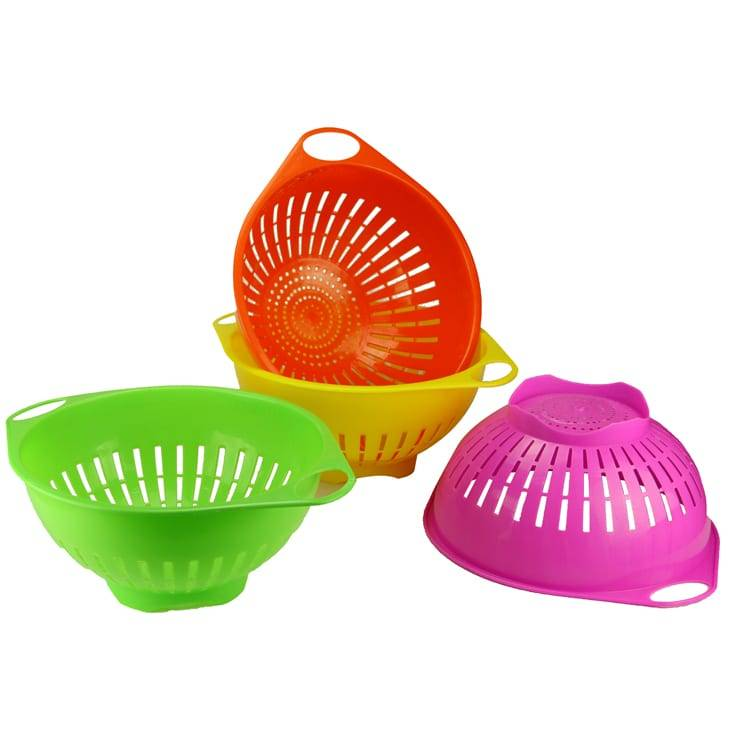 Plastic Drain Basket With Ears