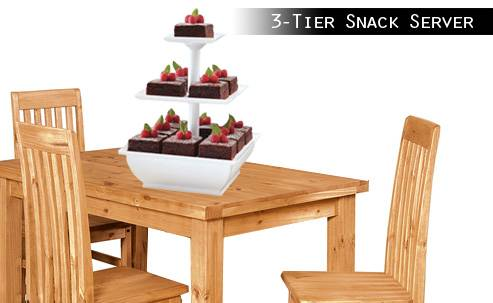 3 tiers clear square shape acrylic dessert display rack acrylic cupcake display stand