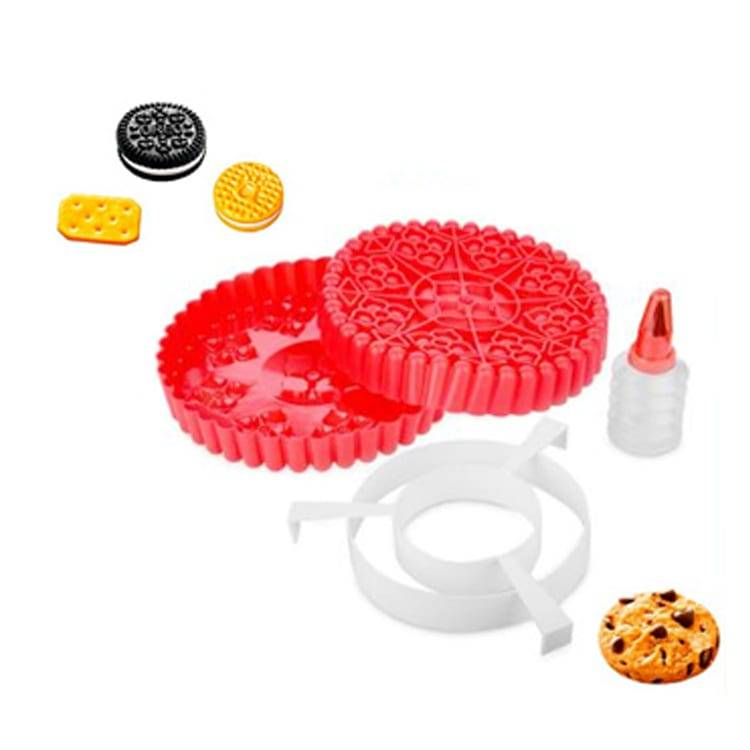 Giant Cookie Maker 4pcs Bakeware Set Silicone Bakeware Set Bigger Than Normal Cookies