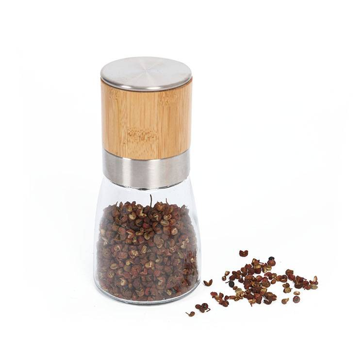 salt and pepper grinder 9615B Bamboo Pepper Mill