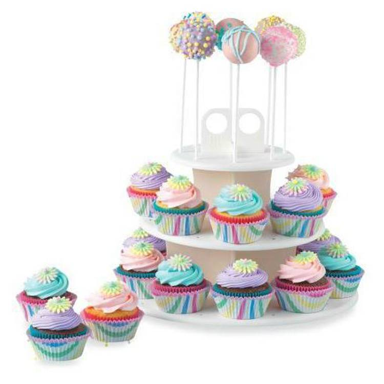Plastic Cake Pop & Cupcake Stand