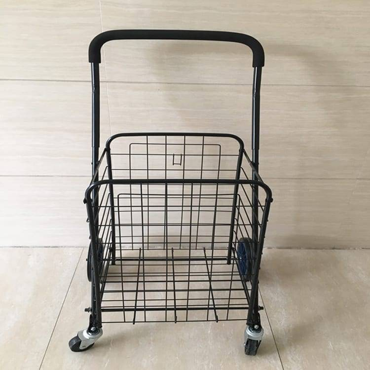 Utility Shopping Cart – Durable Folding Design for Easy Storage