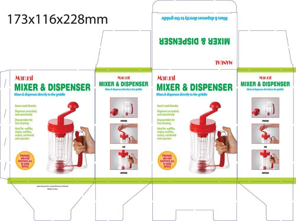 Manual Mixer and Dispenser batter distributor