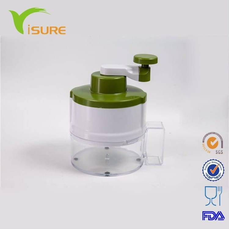Round Vegetable Slicer Manual Fruit Shredder Graters spiral vegetable slicer
