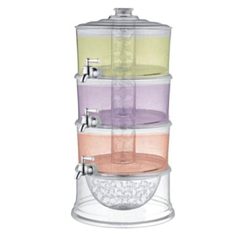 High quality 3 Tier Juice Dispenser