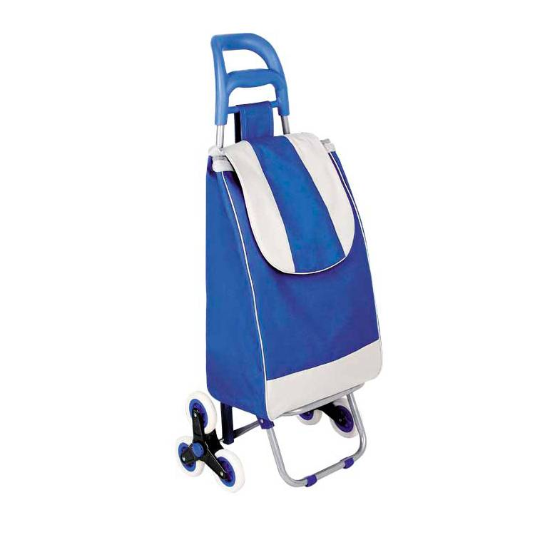 2018 hot sale Polyester Folding Shopping Trolley/Mini Shopping Cart/Foldable Shopping Trolley