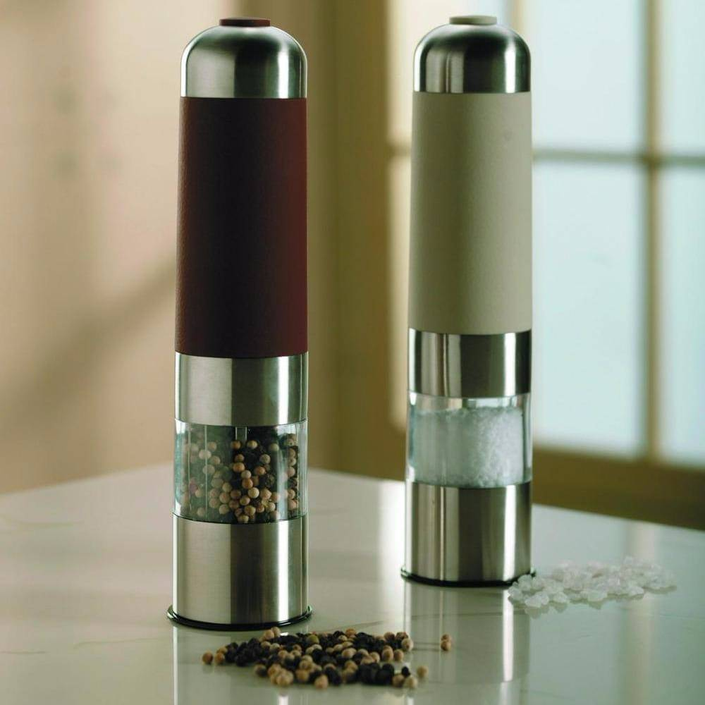 High quality  electric stainless steel salt  and  pepper mill