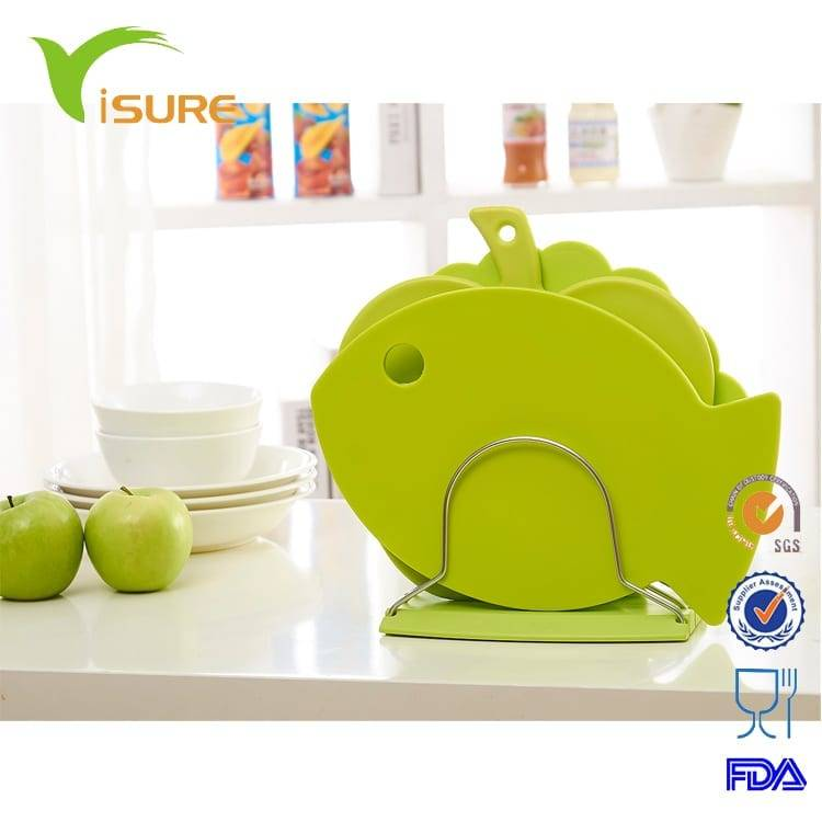 3pcs Special Shape Cutting Board Set New Design Fish Shell Apple Shape Chopping Board