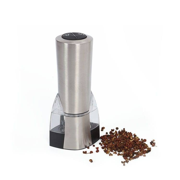 Stainless Steel Electric Salt and Pepper Mill DH-18 Duo 2 in 1 Sprice Grinder