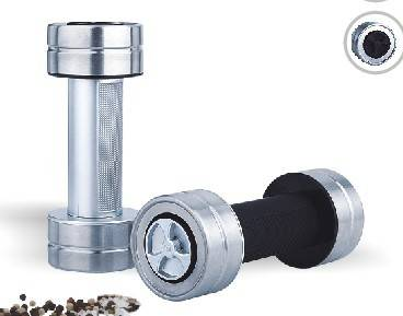 plastic salt and pepper mill 9630 one handed salt & pepper mill