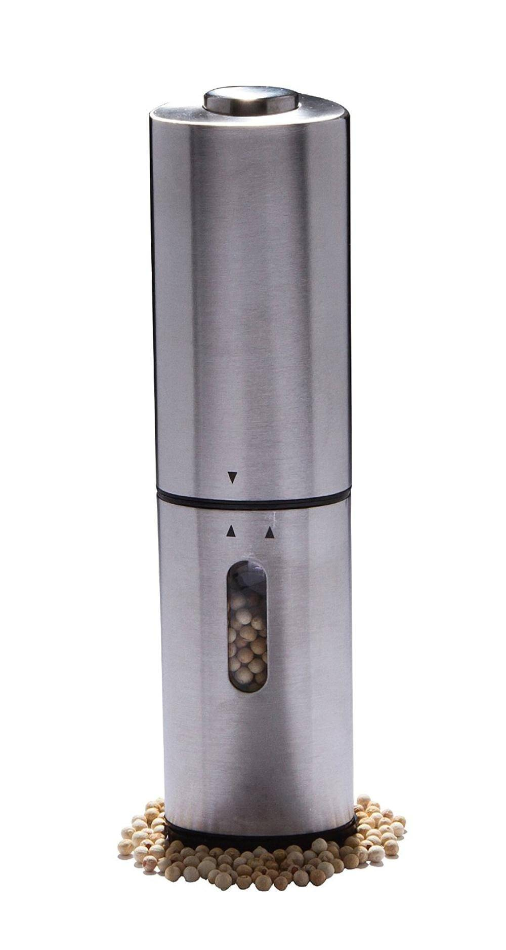 Stainless steel Salt and Pepper Mill with Battery