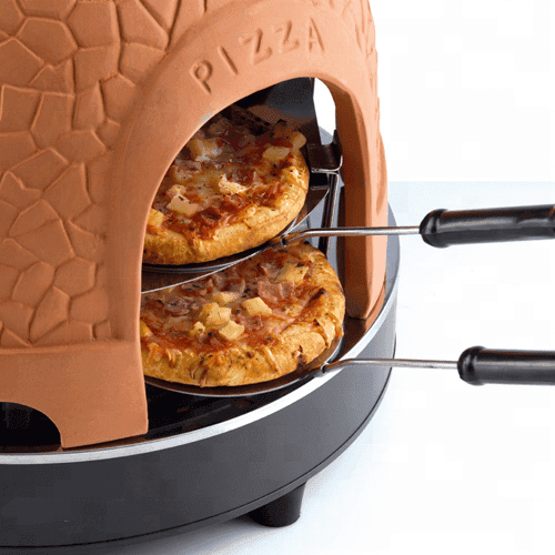 8 person clay pizza oven auto pizza machine maker