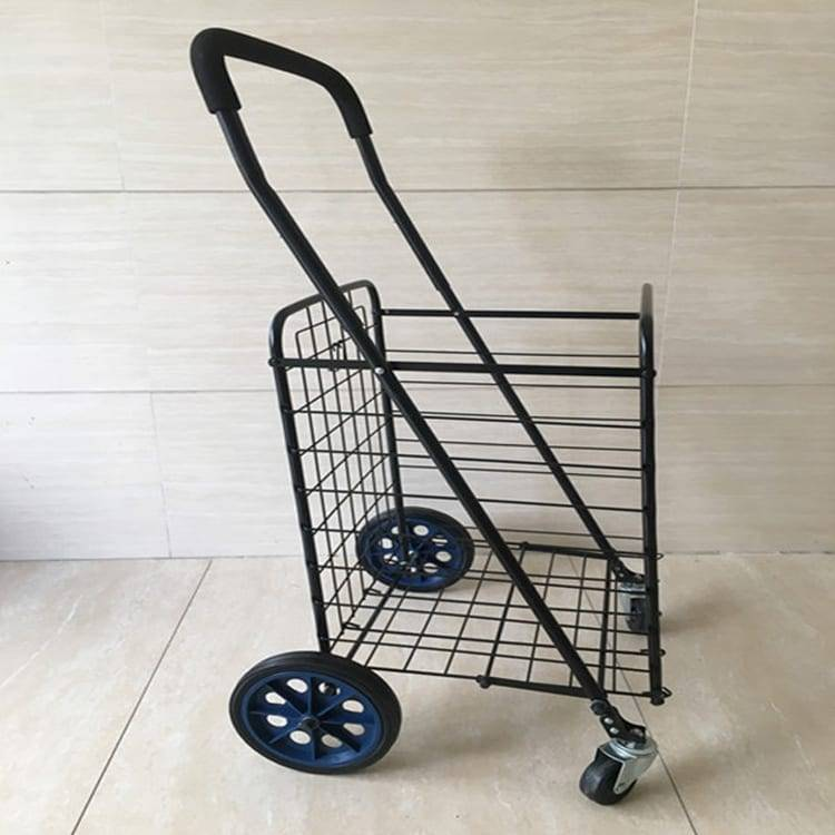 Utility Shopping Cart – Durable Folding Design for Easy Storage Featured Image