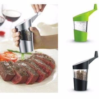 Handle plastic and colorful salt and pepper grinder