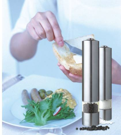 electric pepper grinder 9522 Ceramic salt and pepper mill