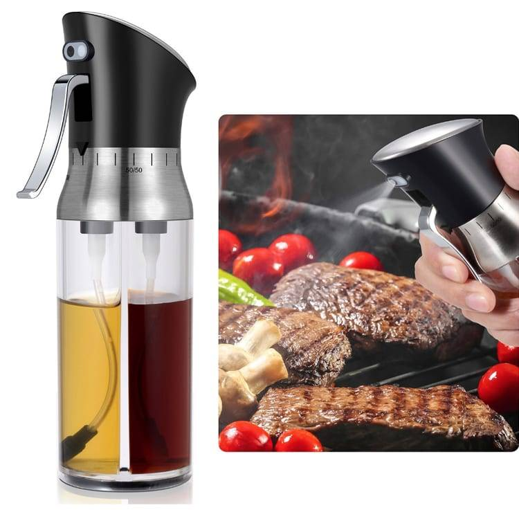 Aluminum Steel Sheet 2 In 1 Pepper Grinder -