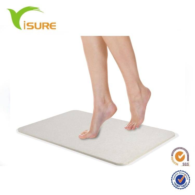 Excellent quality Absorbent Diatomaceous Earth Marbrasse Bathroom Floor Mat;antibacterial Deodorant Nonslip Bathroom Floor Mats