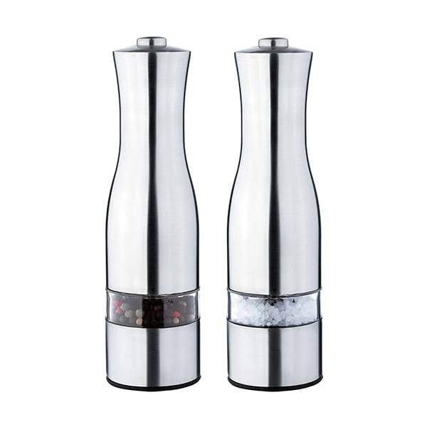 Corrugated Alloy Sheet Bamboo Spice Mill Ceramic -