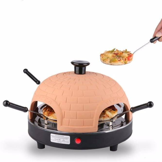 Italy Home Electric Mini Pizza oven 4 person pizza oven