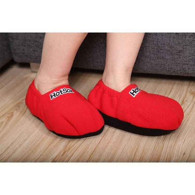 Filled Linseed Heat in Microwave or Freeze Hot Sox Linseed microwave slipper Featured Image