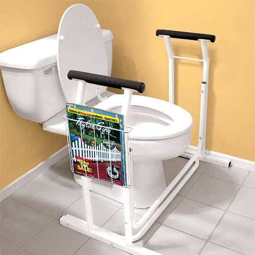 TOILET SAFETY RAIL 6037 toilet grab rail