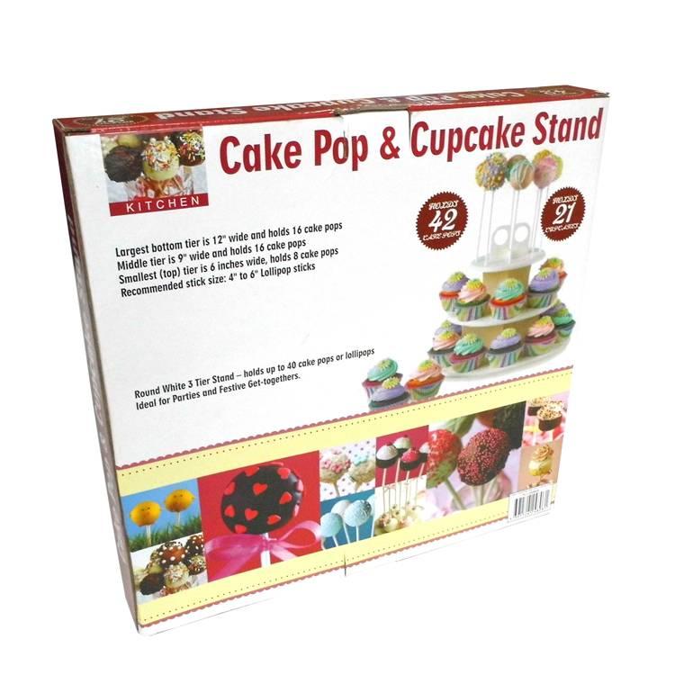 Plastic Cake Pop&Cupcake Stand