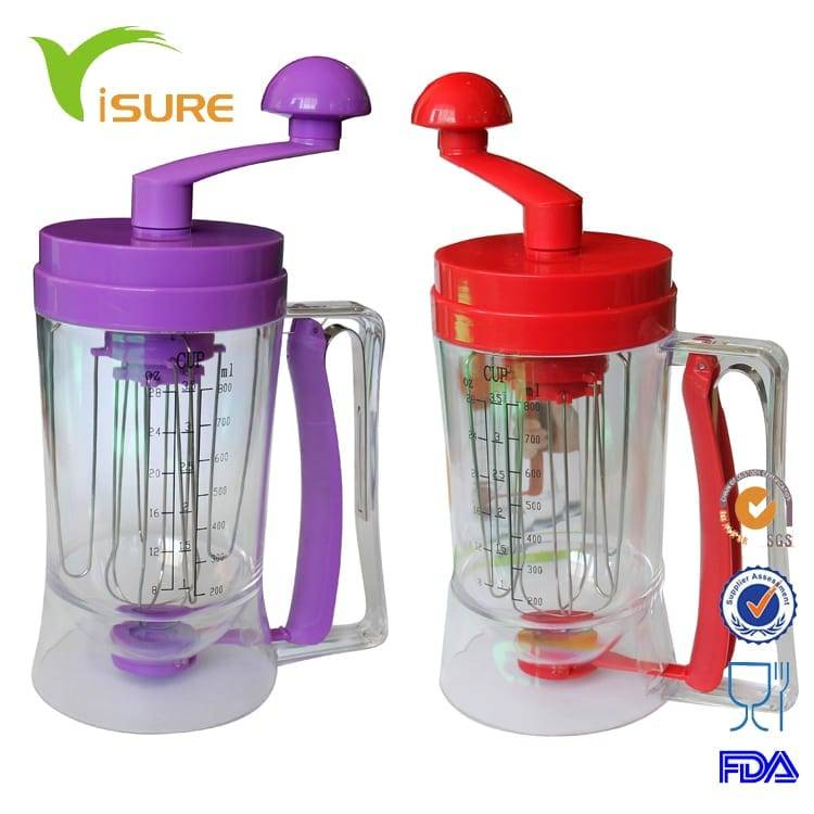 Plastic Handy Pancake Batter Dispenser,Liquid Butter Dispenser