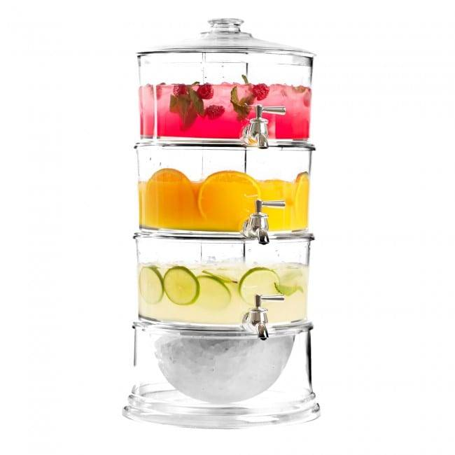 Best Quality 2 Tier Beverage Dispenser With infuser