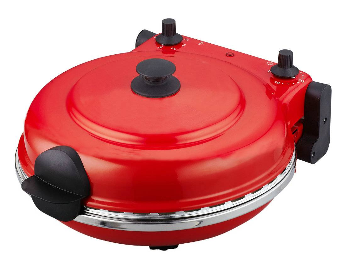 Food Safe Automatic electric pizza maker machine/pizza oven