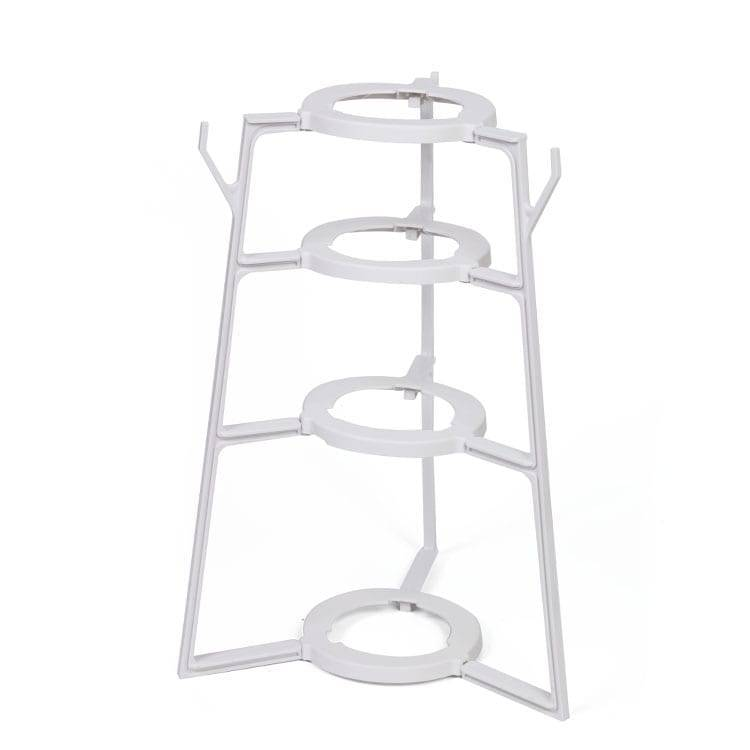 Pot rack wall kitchen plate rack