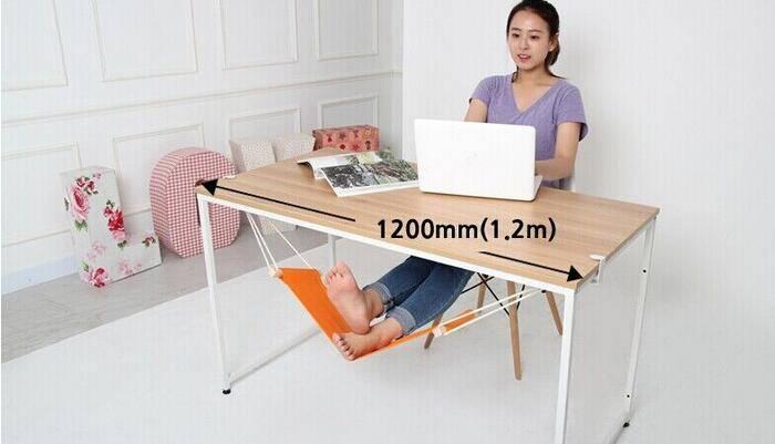 Hot sale foot rest, travel relax, office footrest, fufu portable mini adjustable hammock foot rest