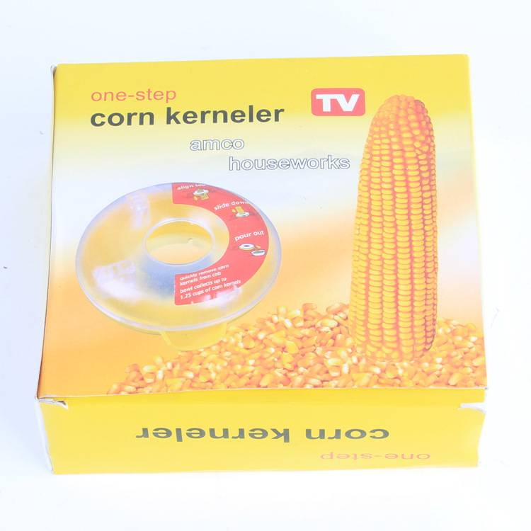 Plastic Corn Kerneler Corn Peeler Circular Peeler One Step Corn Stripper