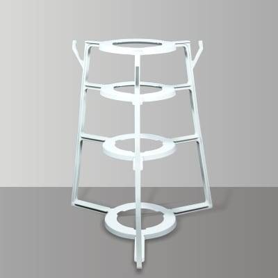 Pot rack kitchen pot lid rack