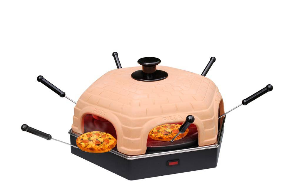 DIY at home Pizza Dome Oven 1/4/6/8P Home Electric Kitchen Appliance TV Promotion