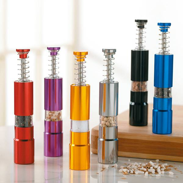 Stainless steel manual salt & pepper mill 9612 Spice Mill