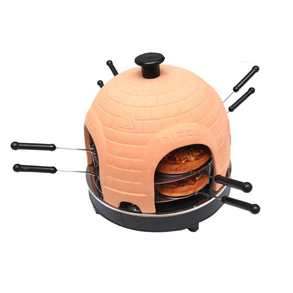 Pizza oven equipment for restaurant 8 person pizza maker