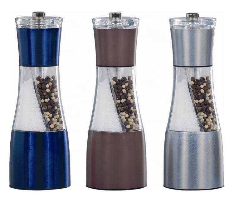 pepper and salt grinder set 9614 Manual 2 in 1 Salt & Pepper Mill