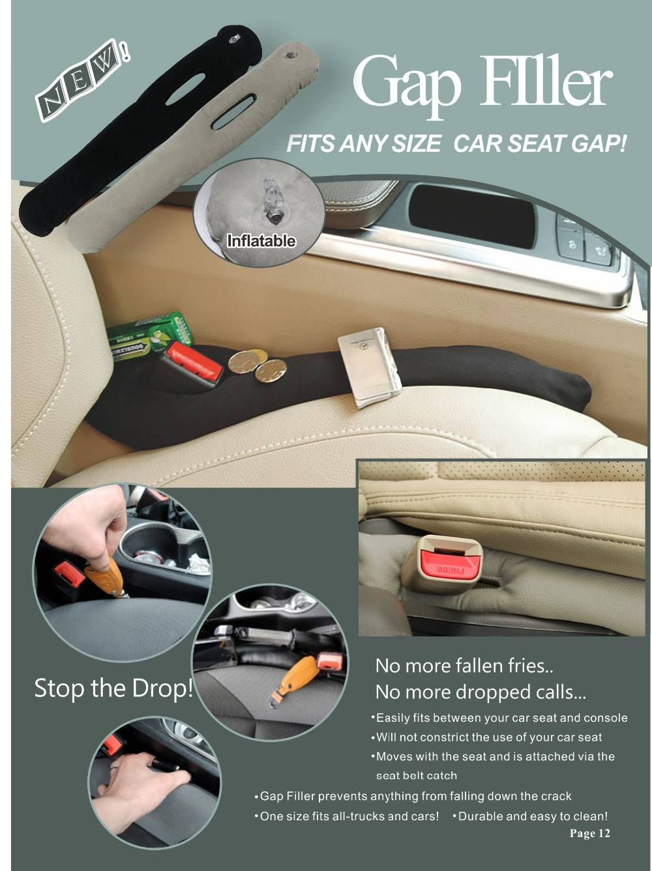Car Seat Cap Filler