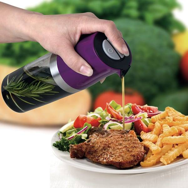 2 in 1 Oil & Vinegar Dispenser Mister Dispenser For Cooking Oil & Vinegar Bottle