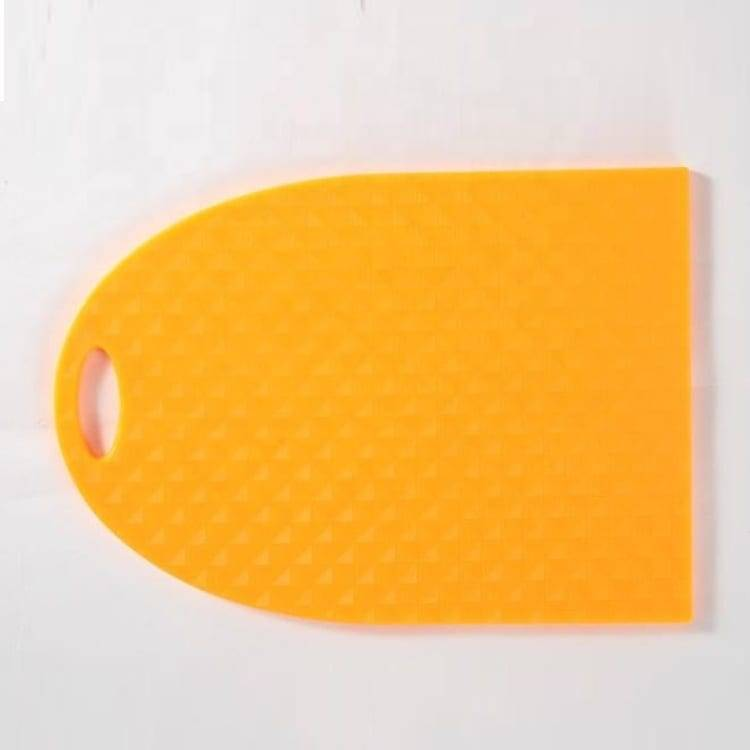 New Design Shape PP Material Cutting Board Environmental Protection Chopping Board With Hang