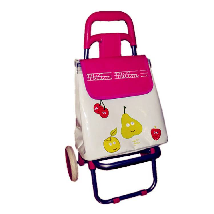 2wheel  mini kids shopping trolley for supermarket