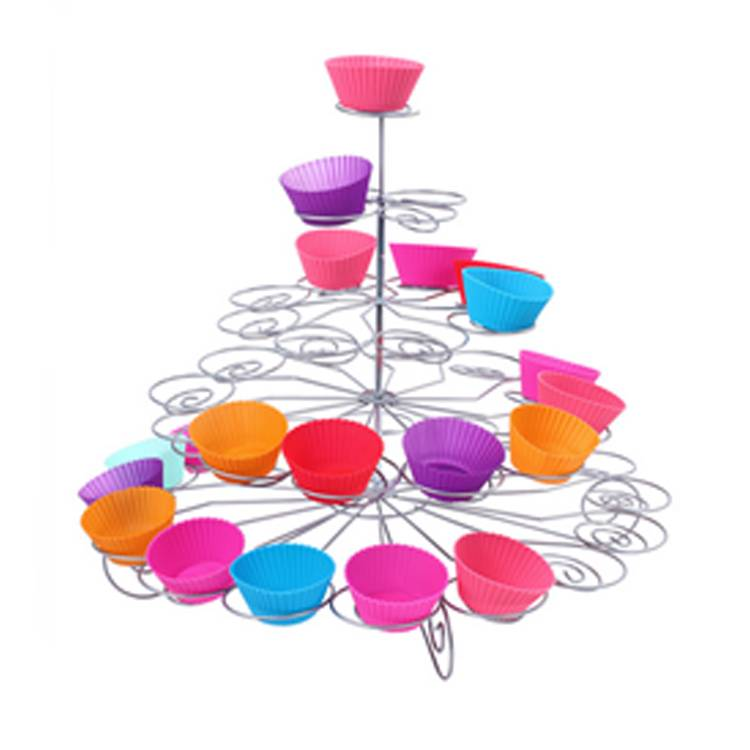 5 tiers Metal Cupcake Stand, Wedding cake stand