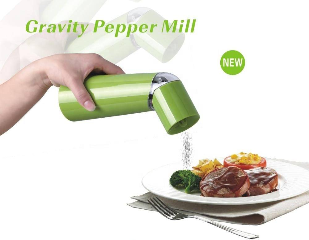 electric pepper grinder 9515 gravity salt and pepper mill