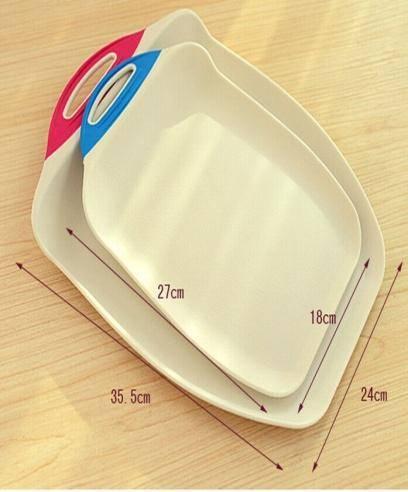 New Design Plastic Antibacterial Non Slip Cutting Board Classification Environmental Protection Cutting Board