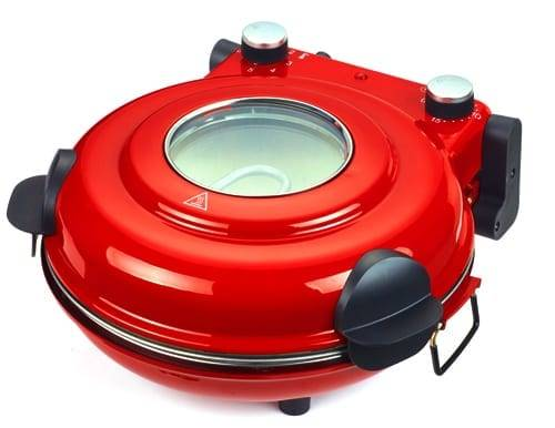Restaurant Electric Pizza Oven Maker Machine with view window