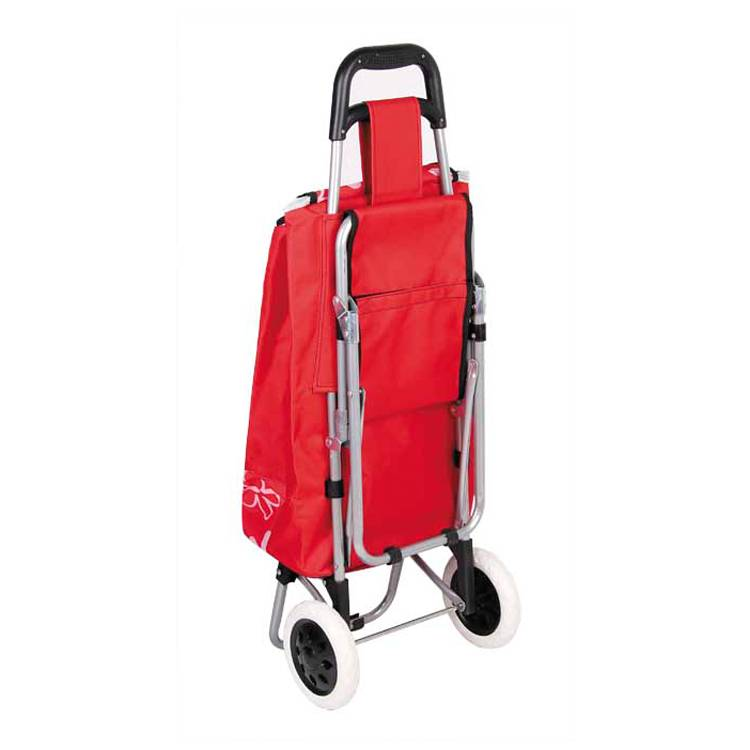 Seat Cart Travel Bag Three in One Multi Function Travel Trolley Shopping Travel Essential Artifact