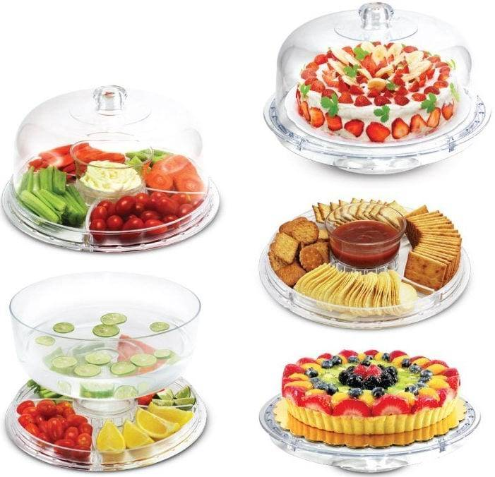 Multi-function Cake Stand Acrylic Cake Stand For Sell Cake Plate Dishes