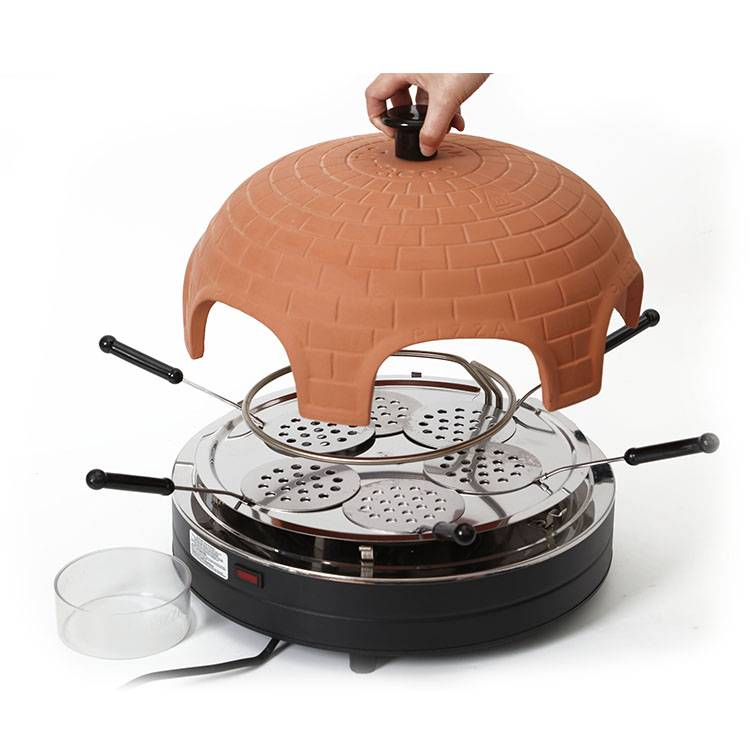 Indoor pizza oven 6 person pizza dome