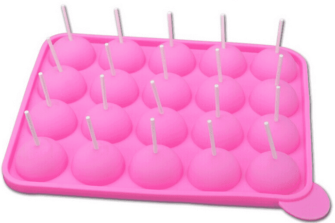 Tasty Top Cake POPs with 25 sticks